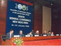 Hon'ble Speaker of Lok Sabha, Shri Somnath Chatterjee inaugurating the Eighth APLAP Conference in the Main Committee Room of Parliament House Annexe in New Delhi on 18 January 2005