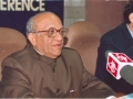 """Shri G.C. Malhotra, Secretary-General, Lok Sabha, delivering the Key-note address on the theme """"Changing Dimensions of Parliament Library and Information Services in the Third Millennium"""" on 19 January 2005"""