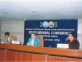 """Ms. Roslynn Membrey, Assistant Secretary, Library Resources & Media Services, delivering the Keynote Address on the theme """"Library Services for Members"""" in the Third Session on 21 January 2005"""